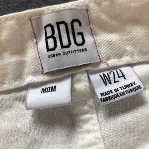 BDG White mom jeans